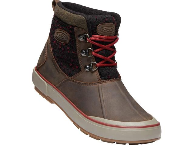 Keen Elsa II Ankle Wool WP Kengät Naiset, cascade brown/fried brick